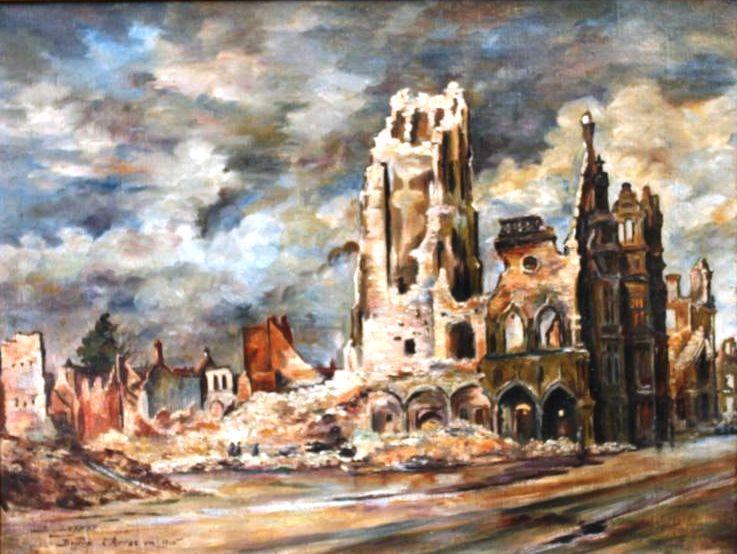 Le 6 octobre 1914 arras ville martyre 1914 l for Piscine d arras