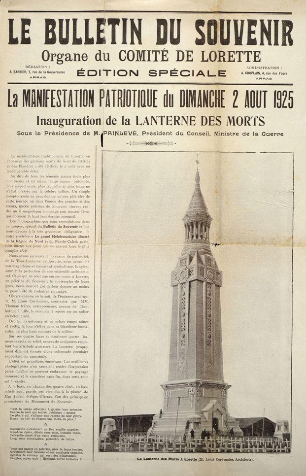 La tour lanterne p lerinage notre dame de lorette albums chroniques de la grande guerre - Poids d un metre cube de sable ...