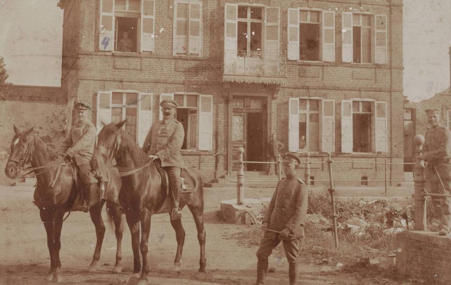 commandanture allemande calais rue neuve
