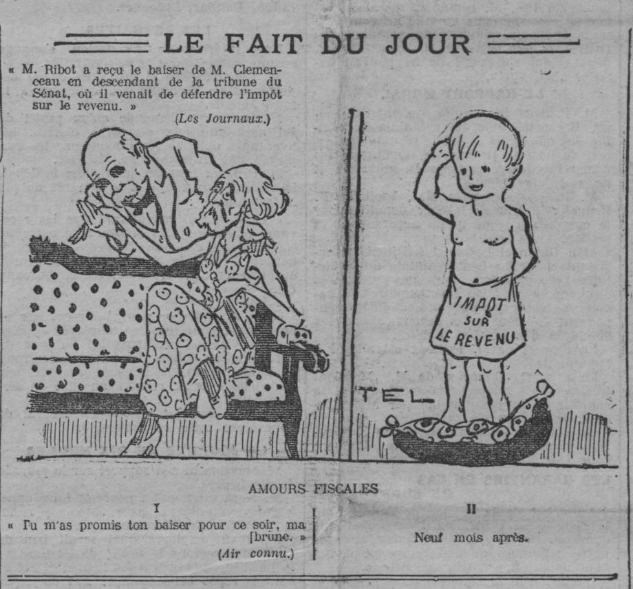 15 juillet 1914 l imp t sur le revenu a cent ans sous. Black Bedroom Furniture Sets. Home Design Ideas