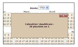 Calendrier Revolutionnaire Conversion.Le Calendrier Republicain Modes D Emploi Aide A La